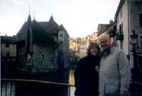 John and Susan in Annecy