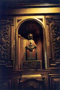 The other Dark Madonna of Le Puy is housed in a separate chapel of the cathedral